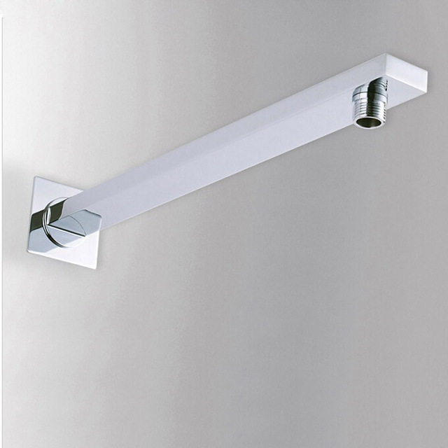 Free Shipping 4/6/8/10/12 inch Stainless Steel Rainfall Shower Head Bathroom Square/round Showerhead Faucet Accessory