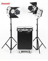 Falconeyes CLL 4800TDX * 2 3000 К 8000 К Цвет бесступенчатая 480 Вт светодиоды видео системы DMX 2 шт./лот с box set CD50 T06