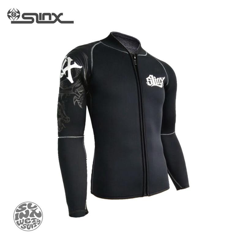 Slinx RivaRanger 1109 5mm néoprène polaire doublure veste chaude combinaison cerf-volant surf planche à voile maillots de bain nautisme plongée sous-marine - 5