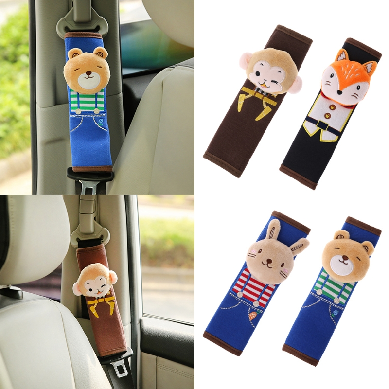 Car Seat Shoulder Pad Baby Cartoon Children Protection Cushion Hot Sale
