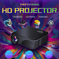 S320 LED Projector 1800 Lumens 1080P USB HDMI AV Micro SD Remote Controller Black for NoteBook Laptop Tablet PC Smartphone