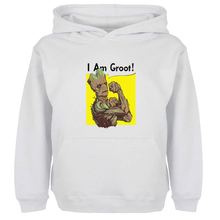 Unisex Sweatshirts For Boy Men Long sleeves Guardians of the Galaxy I am Groot Tree people Spring Autumn Winter Casual Hoodies