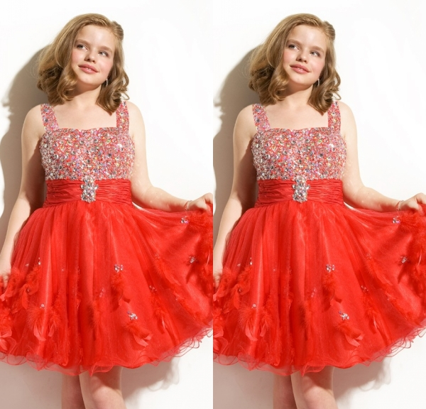 Popular Junior Red Christmas Dresses-Buy Cheap Junior Red ...