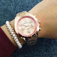 Contena nouveau luxe Femme genève robe montres mode élégant or affaires dames montres Montre Femme Marque de luxe