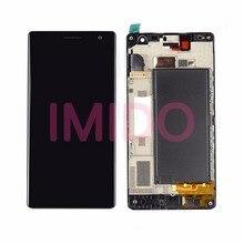 Pour Lumia 730 LCD Display + Écran Tactile Digitizer Assemblée + Cadre Pièces De Rechange