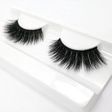 8ce6f2257db iflovedekd Natural Thikc False Eyelashes Black Cotton Stalk Synthetic Hair  Lashes 3D