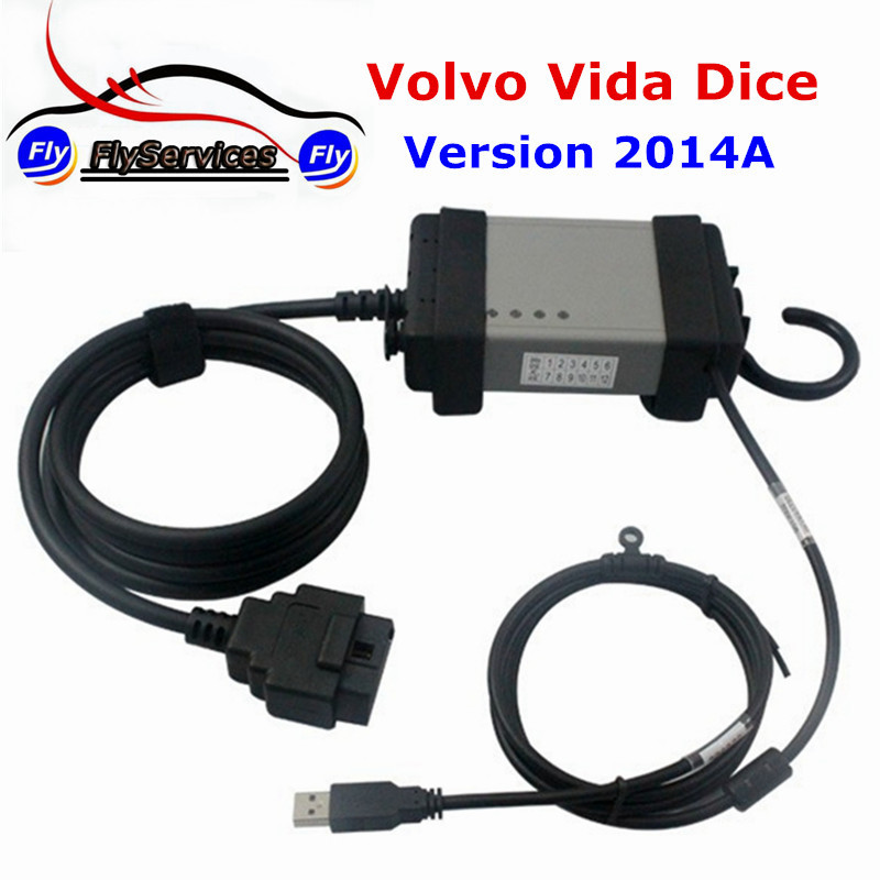 Fast Shipping For Volvo Vida Dice Supports Multi-languages For Volvo Dice Latest Version 2014A Diagnostic Tool languages for america