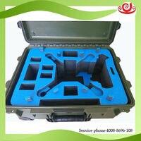 Tricases fábrica OEM/ODM de transportar equipamentos de plástico rígido com personalizar espuma à prova de choque e à prova d' água caso M2400