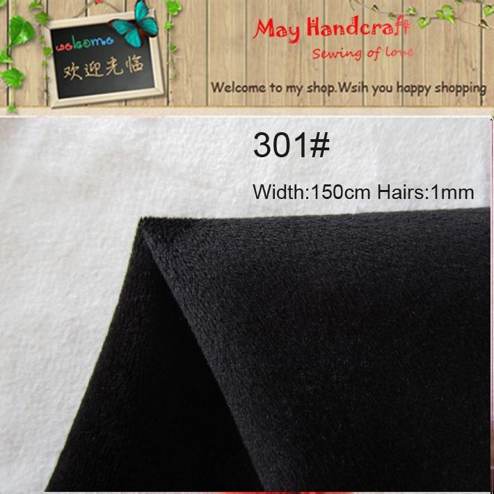 Free Shipping, Black Fabric 301# Anti Pilling Polyester