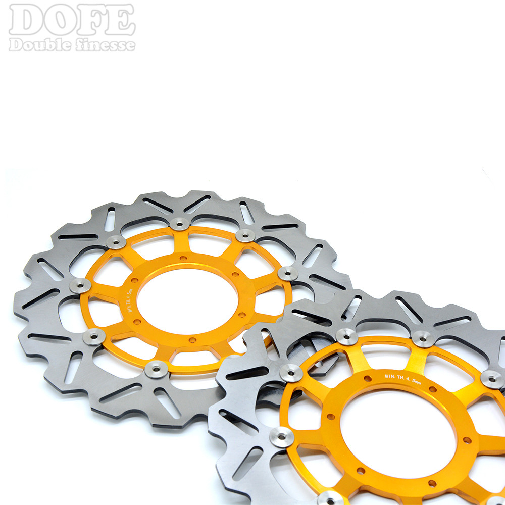 2 pieces motorcycle Front Brake Discs Rotor For Honda CBR600RR CBR1000RR CBR1000RR 2006 2007 2008 2009 2010 2011 2012 2013 2014 engine alternator clutch ignition cover set kit for honda cbr600rr cbr 600 rr 2007 2008 2009 2010 2011 2012 2013 2014 2015 2016