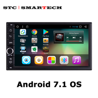 2 Din Android 6 0 1 Car Radio GPS Navigation 7 Inch 1024 600 HD Screen
