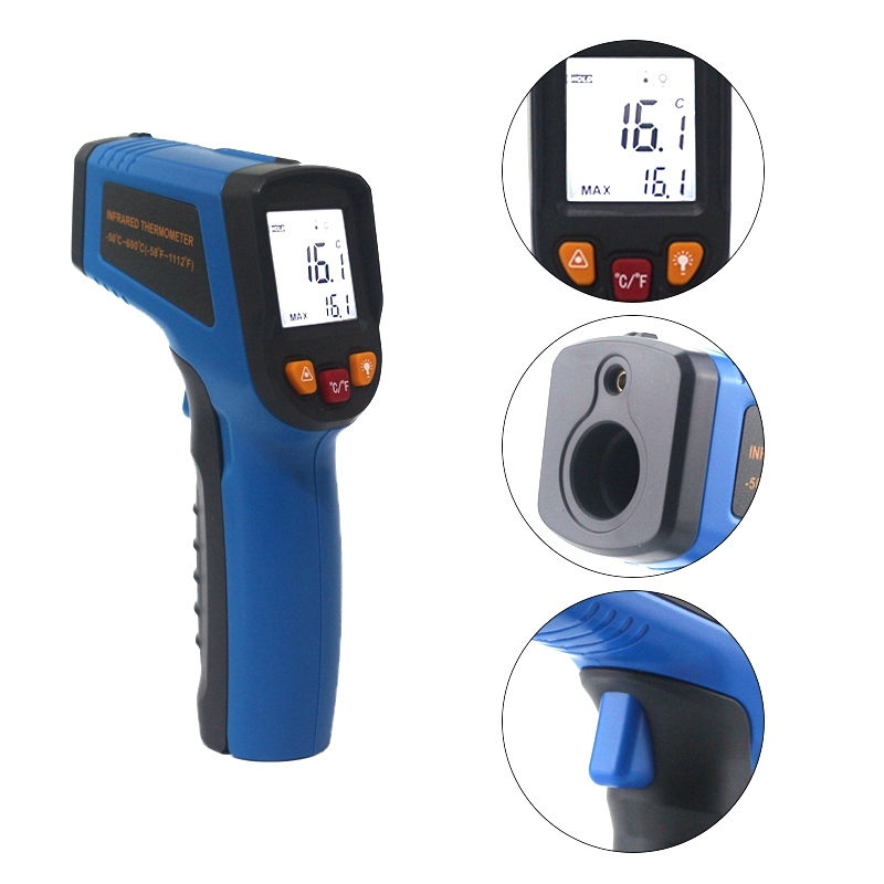 Image 5 - Ketotek Digital Laser IR Infrared Thermometer LCD Non Contact C F