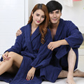 Cotton men bathorbe plus size XXL men's robe nightgown boys thickening soft long autumn winter