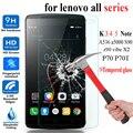 ZUK Z1 Z2 Pro 0.3mm Tempered Glass Film for Lenovo p70 K3 k4 k5 Note A536 a5000 S90 z90 vibe X2 Anti-Explosion Protective Film