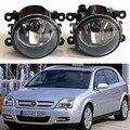 Para OPEL Agila B Twntop Tigra Vectra C Signum Zafira A/B CORSA D MOVANO Car styling luzes de Nevoeiro lâmpadas halógenas Geral 1 conjunto