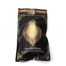 лучшая цена LUBINSKI Cigar Humidifier Bag Portable Travel Humdid-Zip Bag Tobacco Smoking Humidor Humidifier Fix 4-6 Cigars Moisturizing Bag