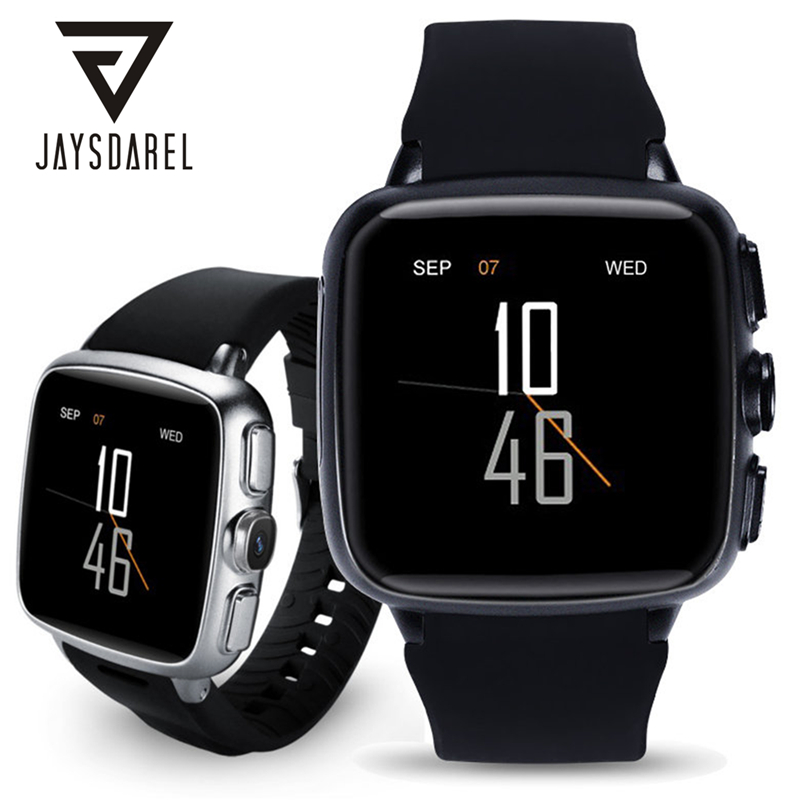 JAYSDAREL Z01 Android 5.1 Heart Rate Smart Watch Phone WIFI 3G WCDMA 500 Million Pixels Camera Smart Wristwatch for Android iOS jaysdarel hw10 android 5 1 smart watch phone heart rate 3g gps wifi hd camera nano sim card smart wristwatch for android ios