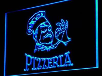i968 Pizzeria Cafe Enseigne Lumineuse Decor Neon Light Sign On/Off Swtich 20+ Colors 5 Sizes