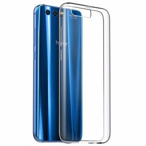 "Image 3 - RONICAN Huawei 社 honor 9 ケースシリコーンカバー honor 9 スリム透明電話保護ソフトシェル Huawei 社 honor 9 5.15"""
