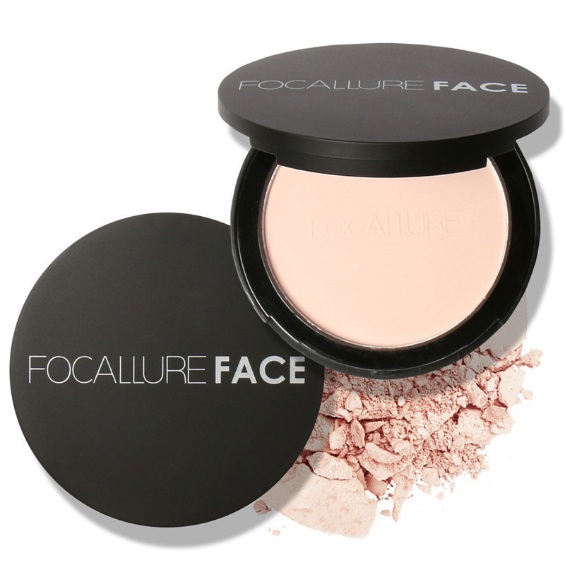 3 Color Powder Oil-control Long-lasting Natural Concealer Brighten Soft and gentle Makeup Face Foundation Powder