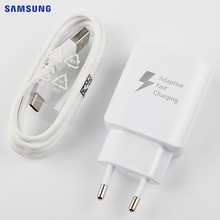 SAMSUNG Original Fast Charger EP-TA330 For Samsung Galaxy S8 S9 plus Tab A2 T595 T590 Tab S3 S3 LTE edition Tab A 8.0 T380 T385(China)