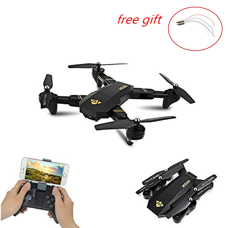 RC Drone Foldable Selfie Mini Drone Visuo XS809W Wifi Camera Remote Control RC Quadcopter FPV Multicopter Model Airplane Toy extra power board for walkera f210 multicopter rc drone