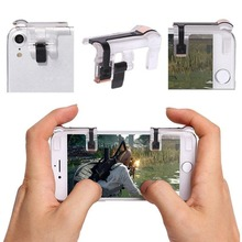1Pair Left/Right Knives out Rules of Survival Gaming Trigger Fire Button Aim Key V5.0 Smart Phone L1 R1 Shooter Controller PUBG