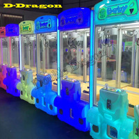 Crane Machine Kit High Quality Crane Game PCB Coin Validator Button Power Supply LED Push Button Topball for Toy Crane Machine