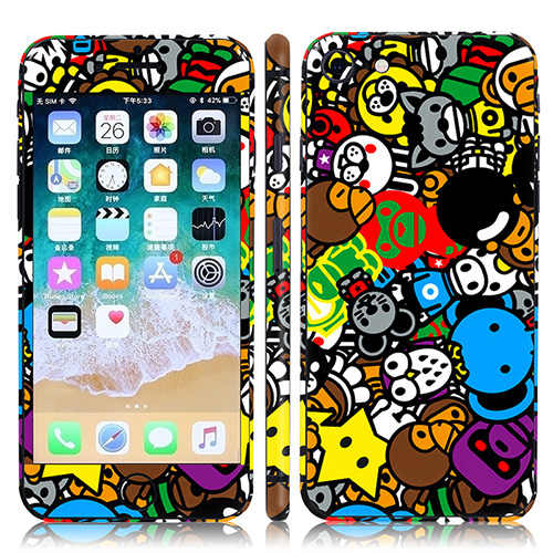 Easily Paste Vinyl Decal and Protective Skin Sticker for Iphone 8
