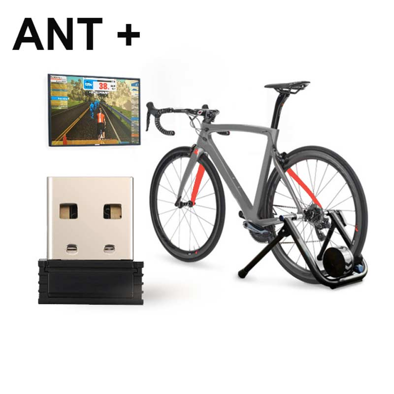 Ingelon USB ANT Stick Gadgets ANT+ USB Adapter Dongle Portable Mini Gadget For Garmin Zwift Onelap Wahoo Cycling Fitness Devices