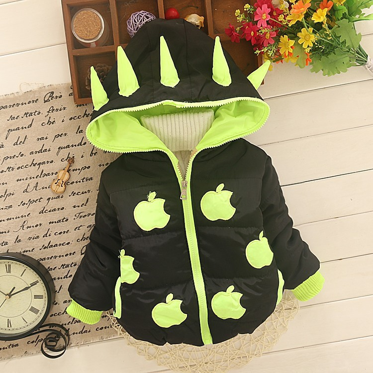 BibiCola New winter boys girls outerwear parkas hooded boys girls coat children winter jackets children outerwear & coats