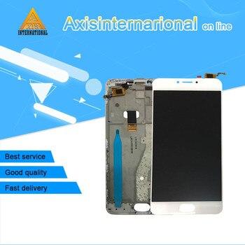 Axisinternational probado pantalla LCD pantalla táctil digitalizador con marco para Meizu m3 nota L681H L para L681H pantalla lcd