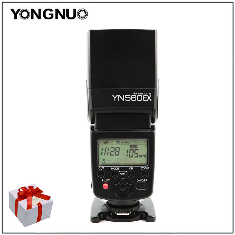 Yongnuo YN-560EX YN560EX Wireless TTL Speedlight Flash For Canon Nikon camera compatible with the ISO hot shoe digital SLR yn e3 rt ttl radio trigger speedlite transmitter as st e3 rt for canon 600ex rt new arrival