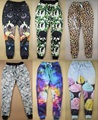 Novo 23 magro Corredores Diamante/galaxy/estampa de leopardo mulheres/homens/menino/menina calças calças hiphop skinny bandana