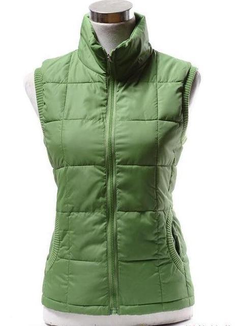 69ec297fd78 XL-XXXXL Autumn Winter Plus Size Vest Women Fashion Cotton Vest Collar Warm Down  Vest