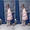 Kids Dresses For Girls Wedding Princess Girls Summer Dress Pink Vetement Enfant Fille Girl Tutu Dresses Jurk Meisje