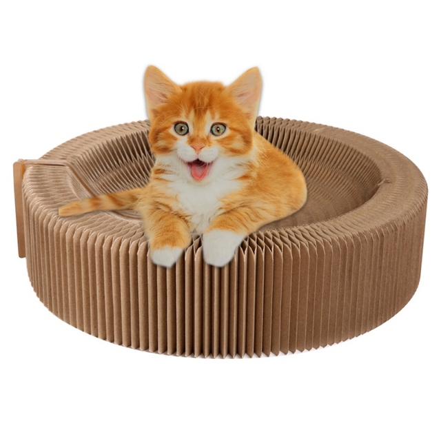 Good Quality Funny Pet Cats Toy Cat Scratch Board Protect Cat Paw Furniture  5 Design Corrugated
