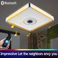NEW Modern LED Luz de Teto Com Controle Remoto RF Grupo Controlado Regulável Mudando A Cor Da Lâmpada Para O Quarto Da Sala de estar