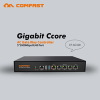 880Mhz Core Full Gigabit Gateway COMFAST CF AC100 AC Gateway Controller Plug And Play Ac Management