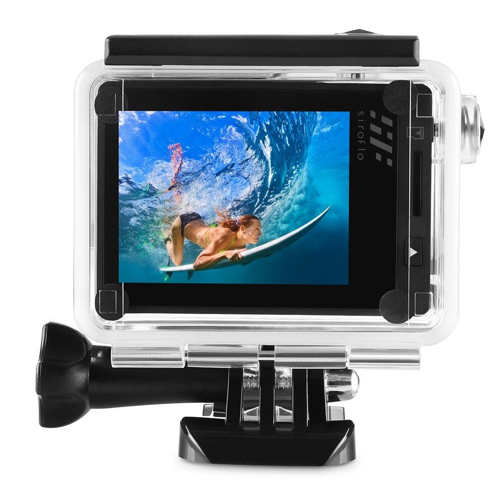 Siroflo LUCIOLE 8 Bluetooth Télécommande WiFi 4 k 2160 p 98-Pieds Étanche Anti-Shake Ultra- longue Durée D'action Caméra