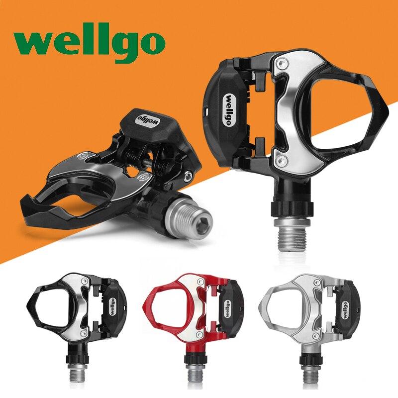 Wellgo R301 Look Keo Compatible Road Bike Pedals bearings clipless pedales automaticos bicicleta de carretera self