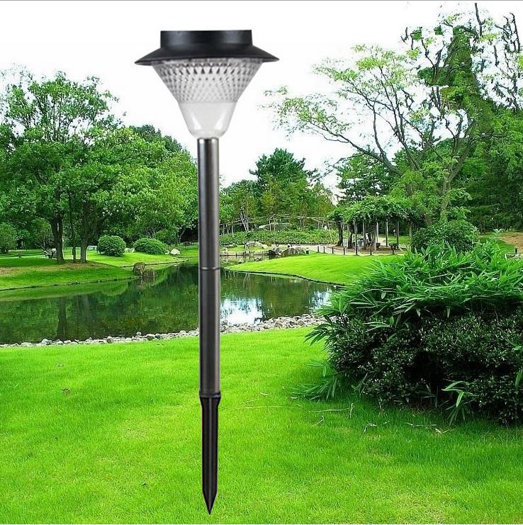 Outdoor Solar Garden Light 24LED Lamp Rainproof Green Power Lawn Landscape Party Path Ground Lighting Super Bright 2 Color 5w led lamp outdoor garden lawn lighting fixture ac85 265v e27 metal landscape lamp led path light