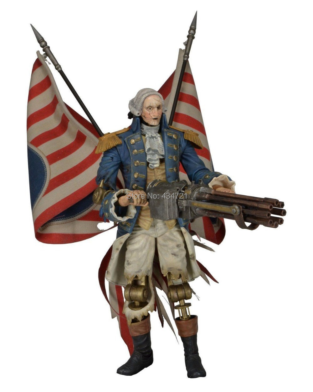 ФОТО NECA Bioshock Infinite George Washington