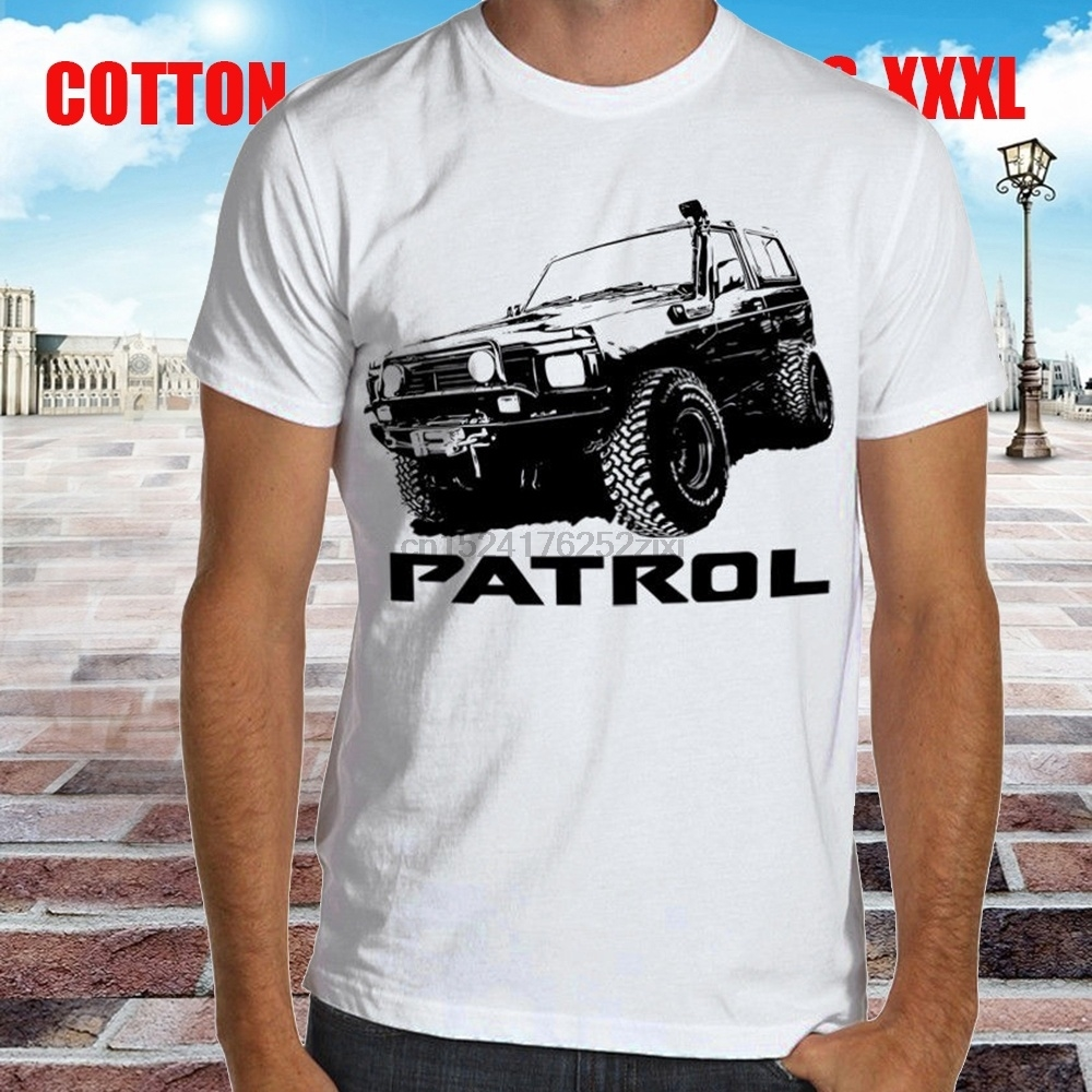 Nissan Patrol Premium Mens T-shirt Fashion Tee Shirt Casual Funny Tops Clothing Be Novel In Design 1