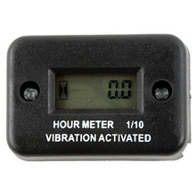 Motorcycle New Tach Vibration Activated Hour Meter For ATV Snowmobile Gas Engine Accessories