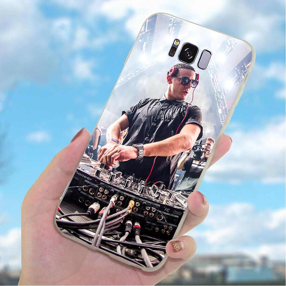 Lembut TPU Silicone Case For Samsung Galaxy A7 2018 DJ Ular Ponsel Cover untuk A8 A9 A10 A20 A30 A40 a50 A70 J3 J5 J6 J7 A5 2017 A6