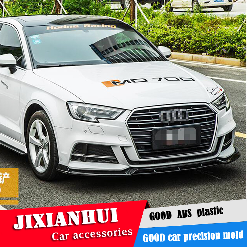 For Audi A3 Body Kit Spoiler 2018 2019 For Audi A3 ABS