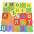 26 pçs/set Enigma Esteira do Jogo Do Bebê, 30*30 cm Rastejando Crianças Piso Macio Tapete de Espuma EVA Tapete Educacional Crianças Brinquedos Atividade Ginásio