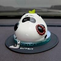 Car Air Freshener Ceramics Panda Perfume Seat Fragrance Diffuser Cute Automobiles Interior Scent Odor Freshener Home Furnishing