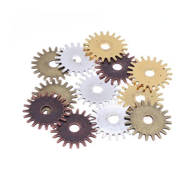 20pcs per lot DIY Handcraft Steampunk Gears Metal Component Accessories